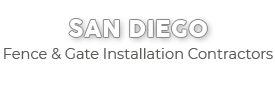 San Diego Fence & Gate Installation Contractors-new logo